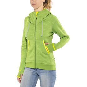 Edelrid Blockstar Veste à capuche zippée Femme, green pepper